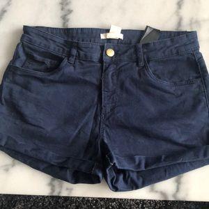 Blue H&M size 6 shorts